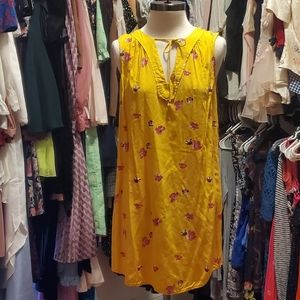 YELLOW OLD NAVY DRESS SIZE SMALL